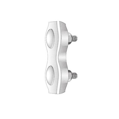 DUPLEX-Klemme (NIRO A4, AISI 316) 5 mm zum Schliessen des Seiles