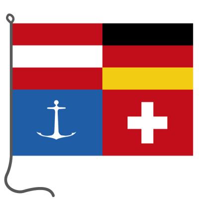 Bandiera, di barca, DS