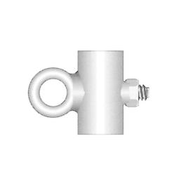 Schiebering Ø 15 mm, feuerverzinkt für Fahnenstangen-Ø 15 mm