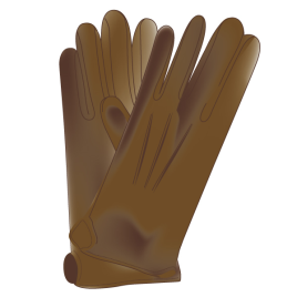 Handschuhe, braun