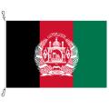 Fahne, Nation bedruckt, Afghanistan, 70 x 100 cm