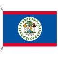 Fahne, Nation bedruckt, Belize, 150 x 225 cm