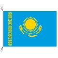Fahne, Nation bedruckt, Kasachstan, 70 x 100 cm