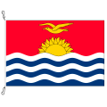 Fahne, Nation bedruckt, Kiribati, 100 x 150cm