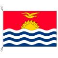 Fahne, Nation bedruckt, Kiribati, 200 x 300 cm