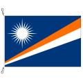 Fahne, Nation bedruckt, Marshallinseln, 70 x 100 cm