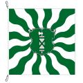 Fahne, geflammt, bedruckt St. Gallen, 100 x 100 cm