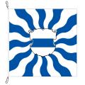 Fahne, geflammt, bedruckt Zug, 100 x 100 cm