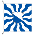 Fahne, geflammt, bedruckt Zürich, 200 x 200 cm